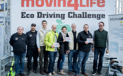 Die Sieger der movin4LIFE Eco Driving Challenge 2017