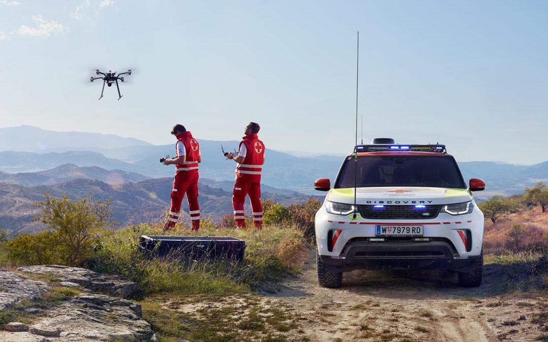 Project Hero – Hightech Land Rover im Notfalleinsatz