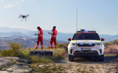 Project Hero – Hightech Land Rover im Notfalleinsatz