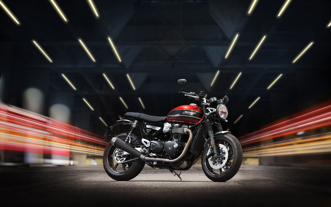 Triumph Speed Twin 1200– High Performance im britischen Nadelstreif